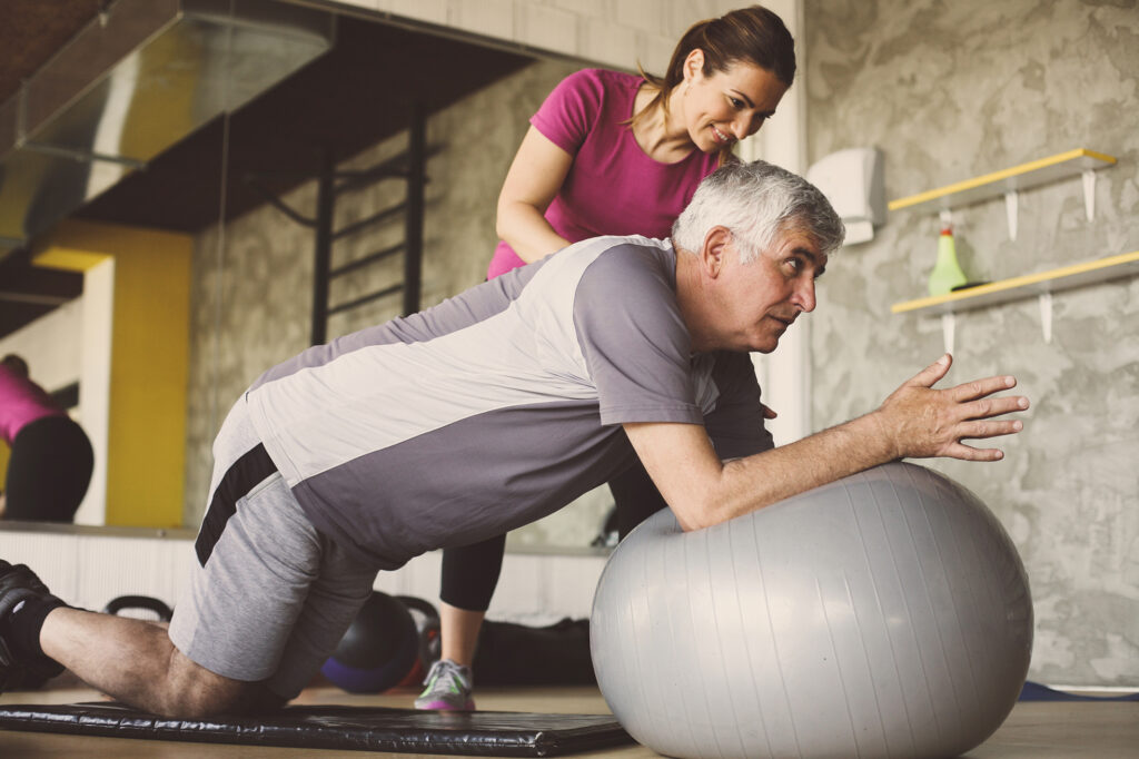 Physical Therapy, NKT, Exercise, Stability Ball, Pilates