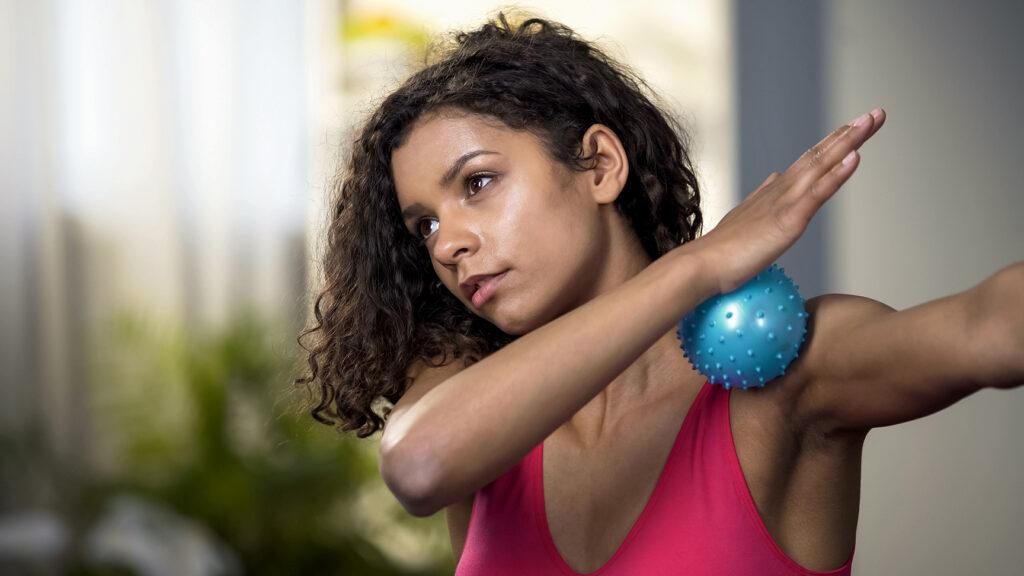 NKT, Massage Ball, Muscle Release, Stress Relief, Pain Management